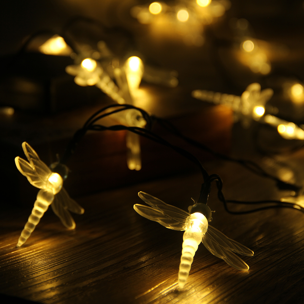 outdoor party lights string photo - 3