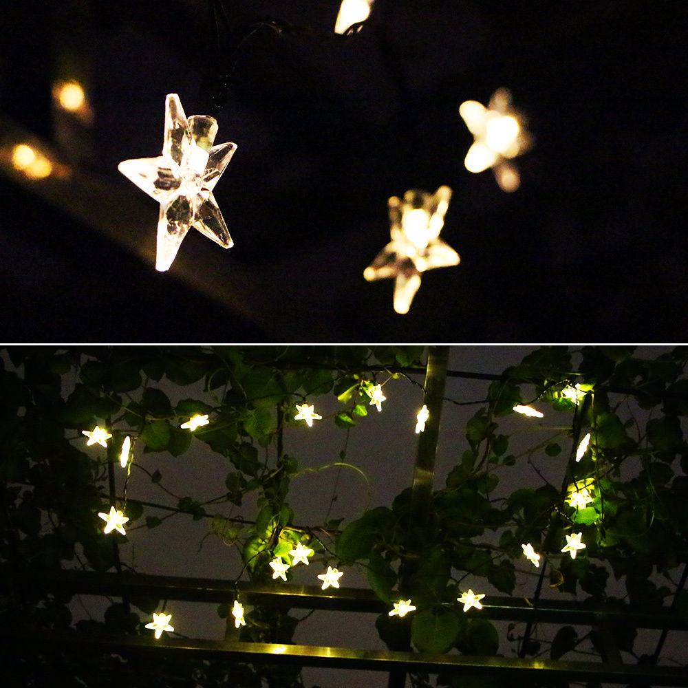 outdoor party lights string photo - 7