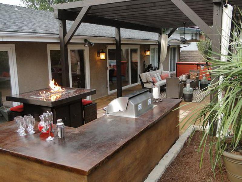 outdoor patio bar designs photo - 10