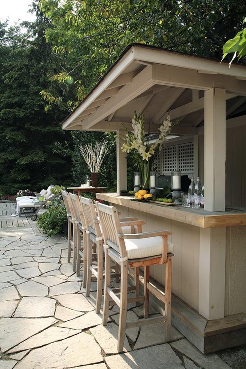 outdoor patio bar designs photo - 6
