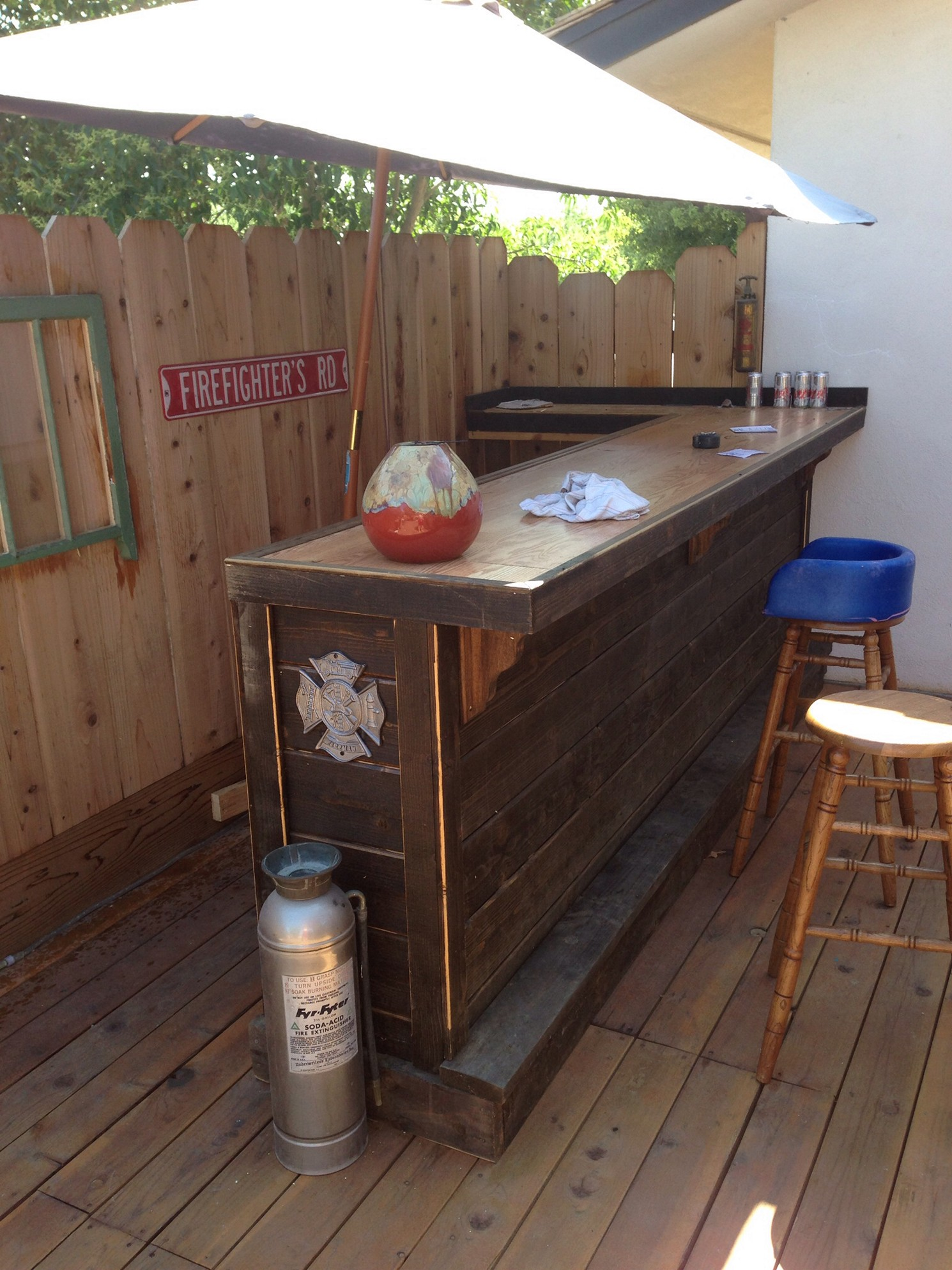 outdoor patio bar designs photo - 9