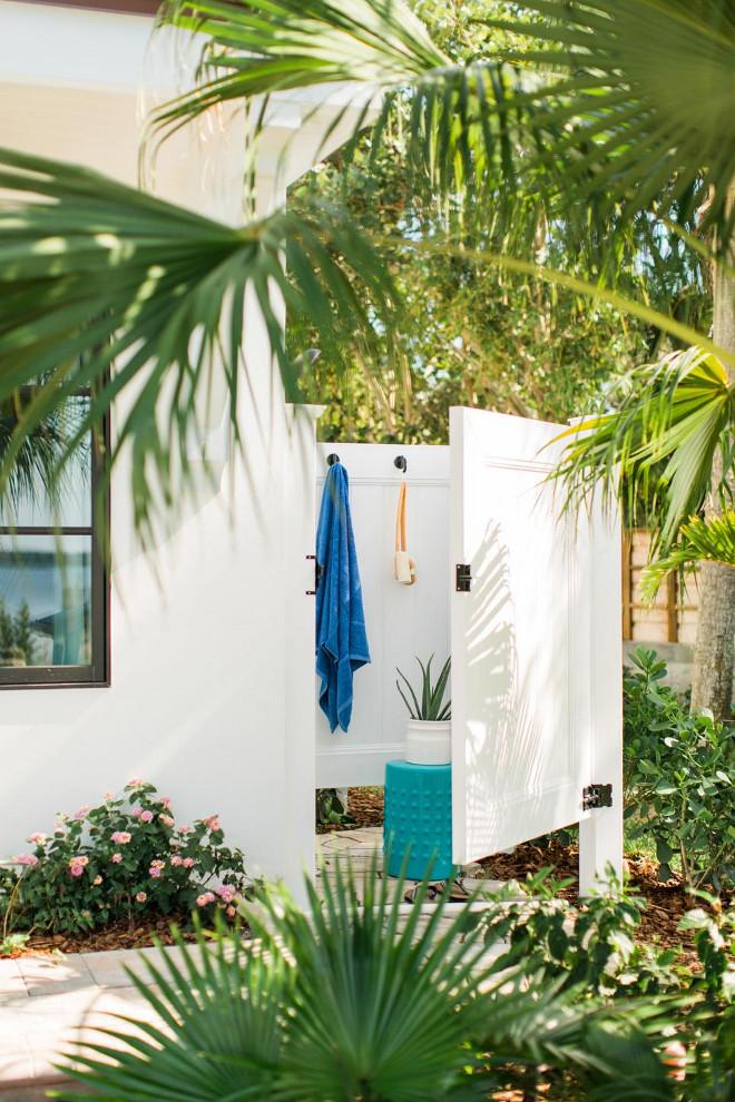 outdoor shower beach house photo - 4
