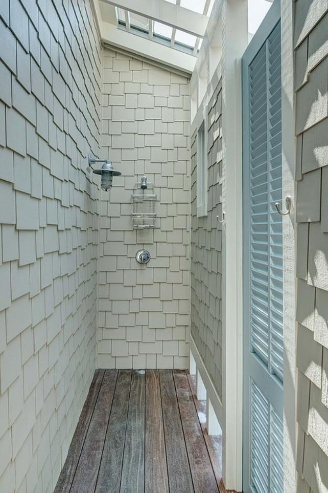 outdoor shower beach house photo - 6