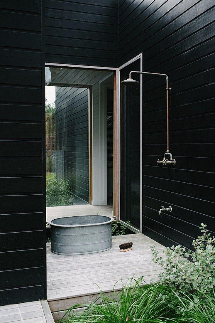 outdoor shower beach house photo - 7