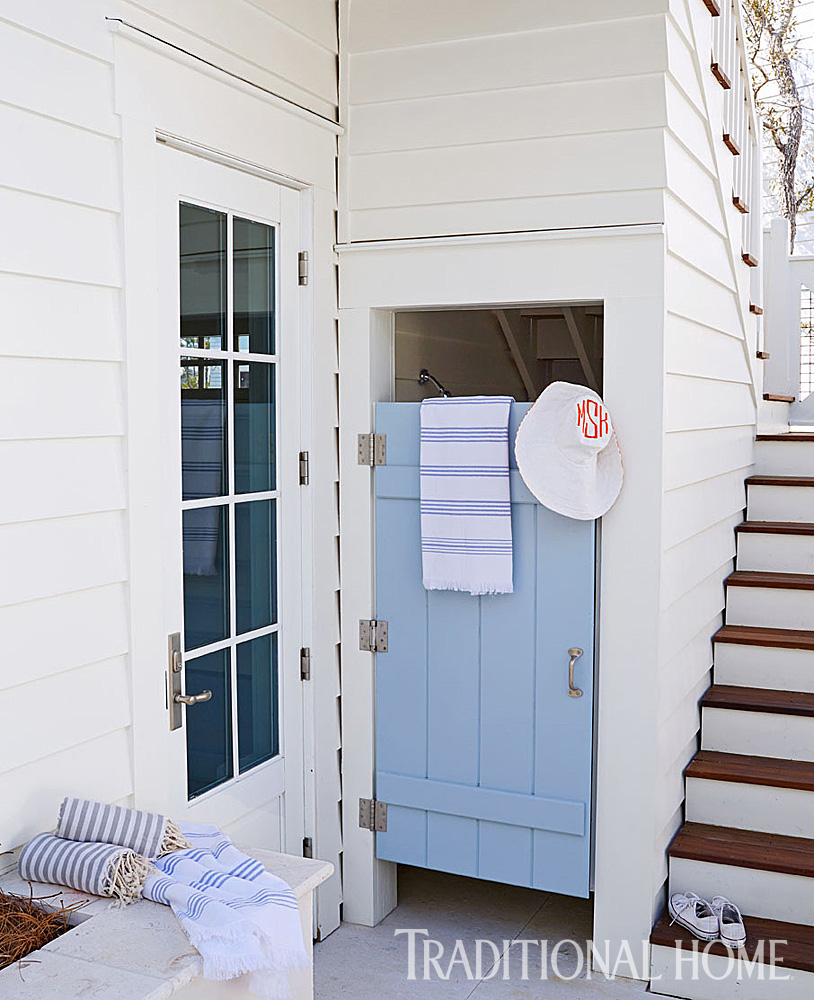 outdoor shower beach house photo - 8