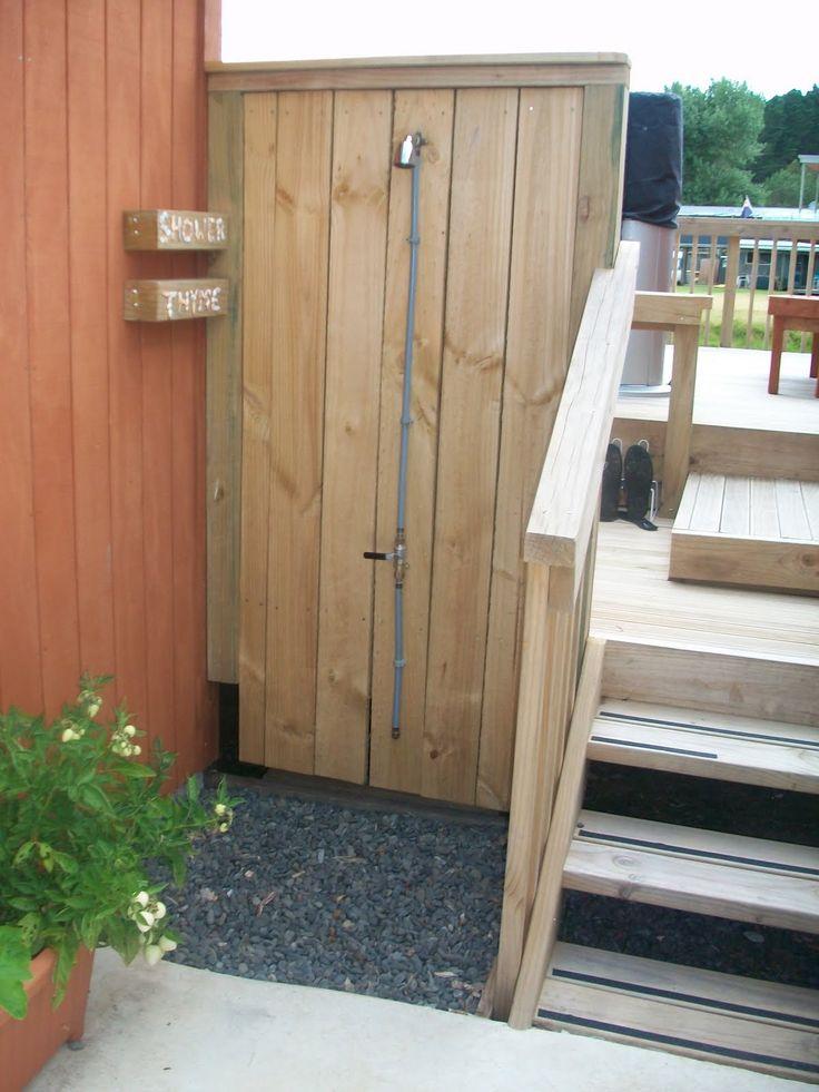 outdoor shower deck photo - 10