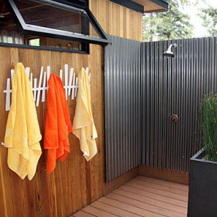 outdoor shower deck photo - 2