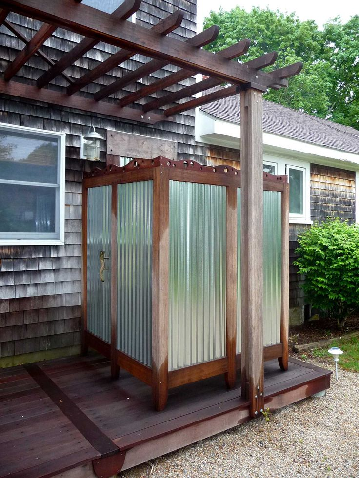 outdoor shower deck photo - 4