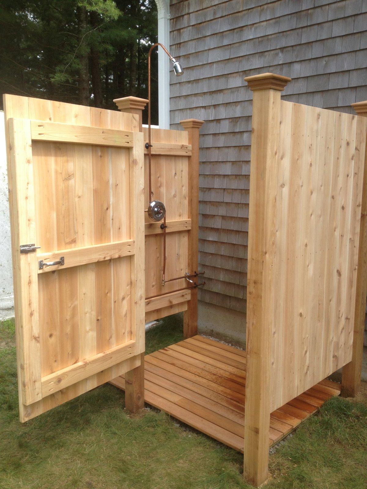 outdoor shower deck photo - 5
