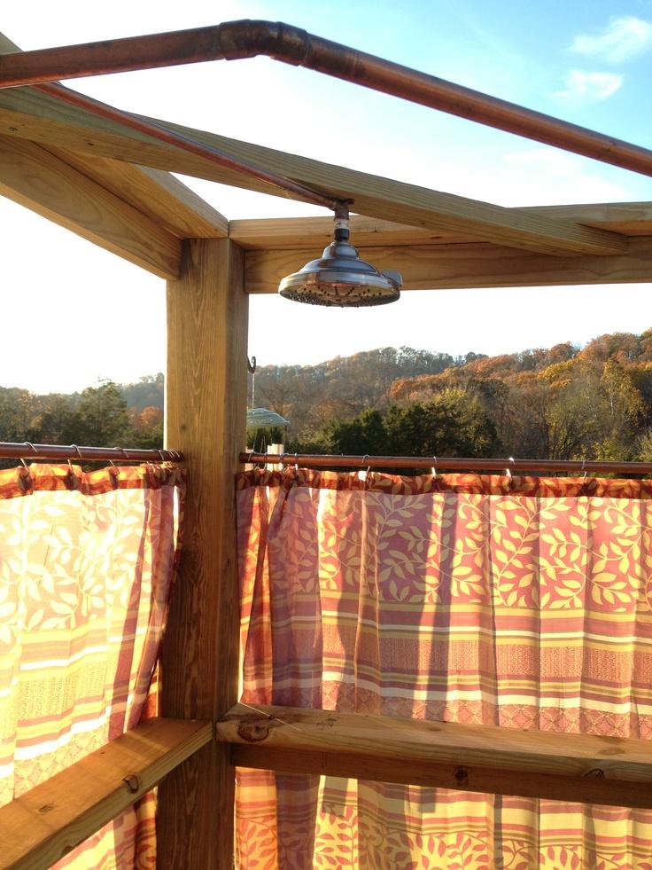 outdoor shower deck photo - 6