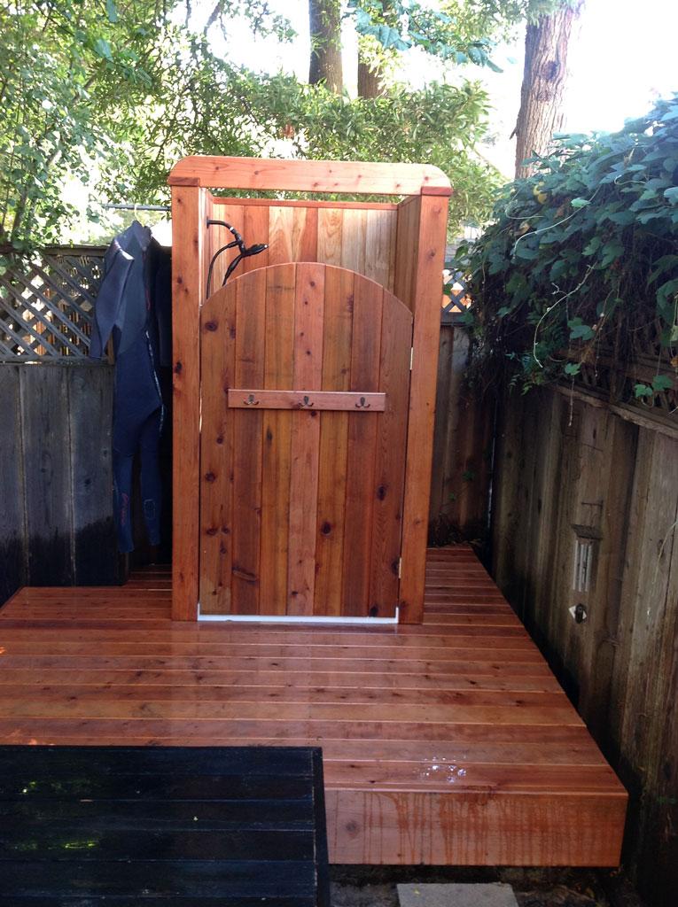 outdoor shower deck photo - 7