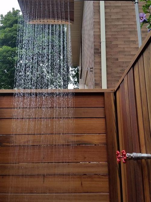 outdoor shower deck photo - 9