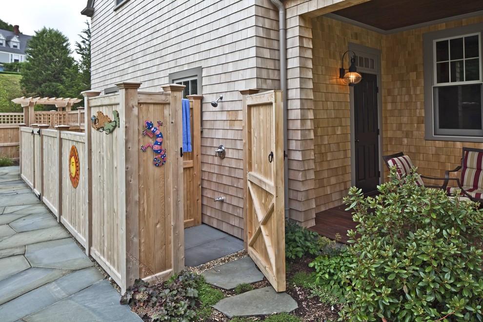 outdoor shower design photo - 10