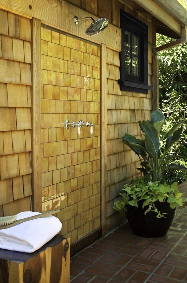 outdoor shower design photo - 5
