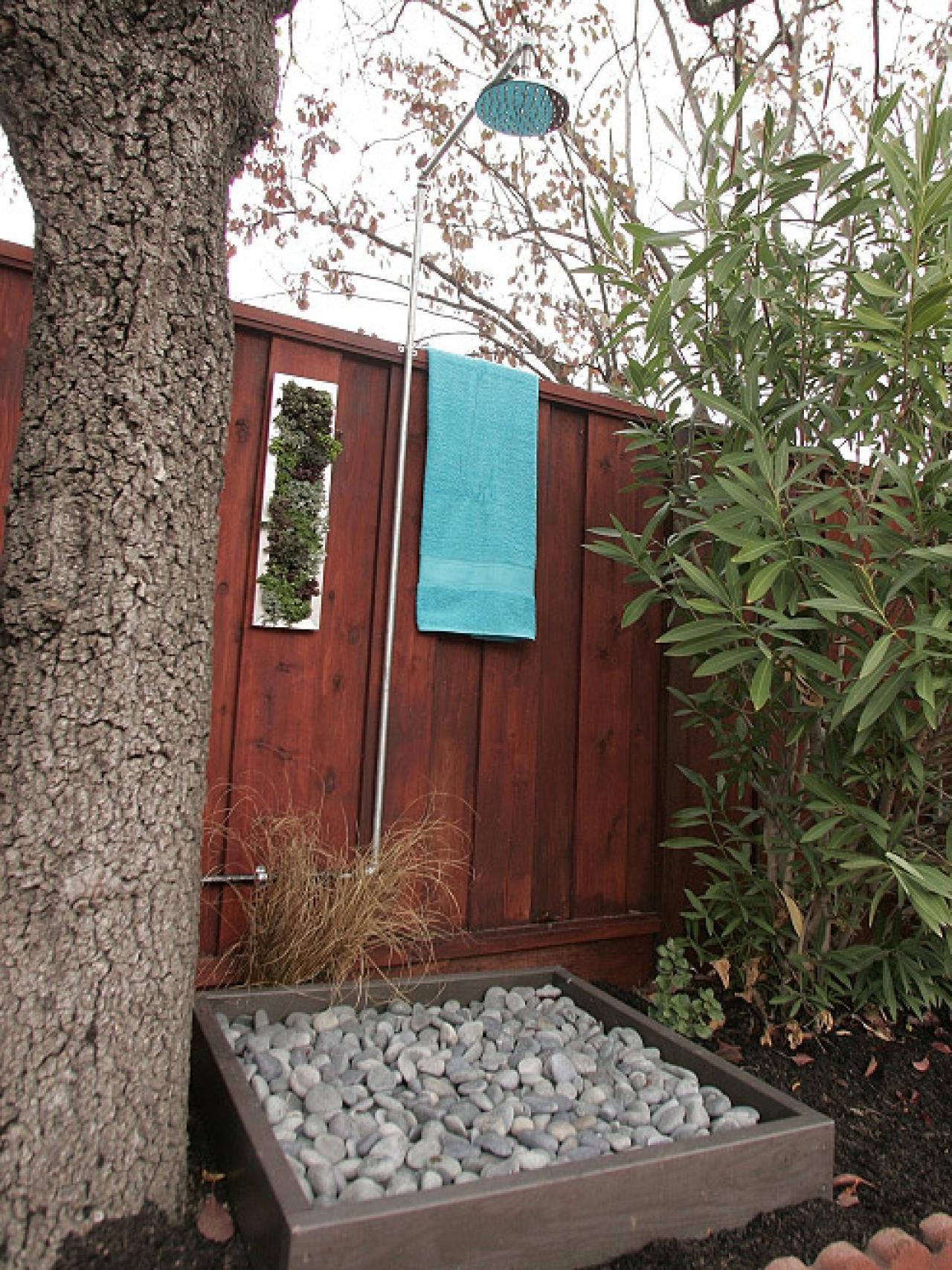 outdoor shower design photo - 6