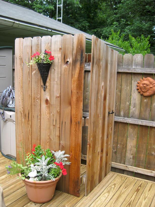 outdoor shower design photo - 8