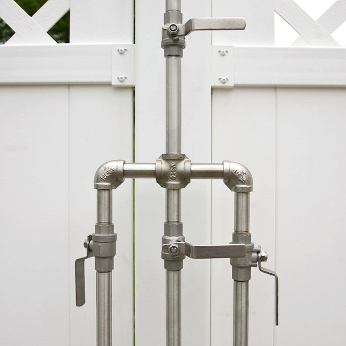 outdoor shower faucets photo - 3