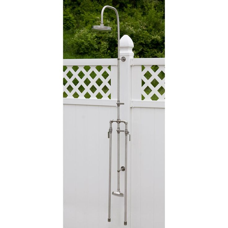outdoor shower faucets photo - 8