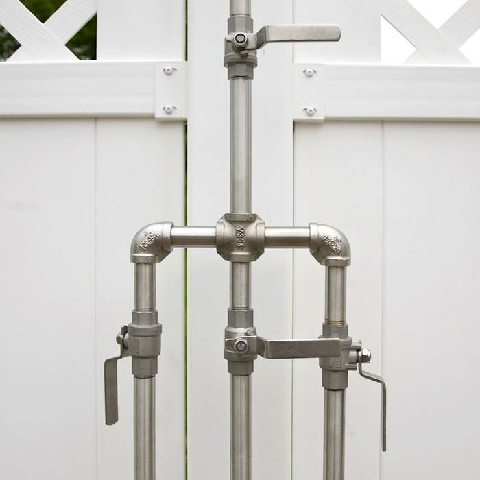 outdoor shower fixtures photo - 1