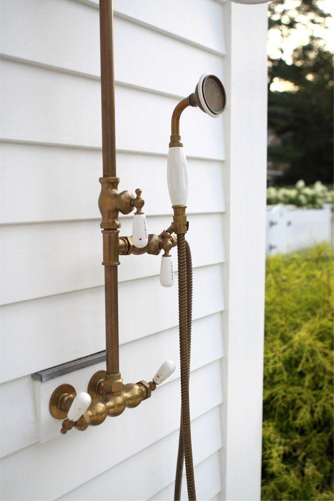 outdoor shower fixtures photo - 3