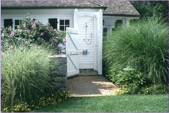outdoor shower garden photo - 10