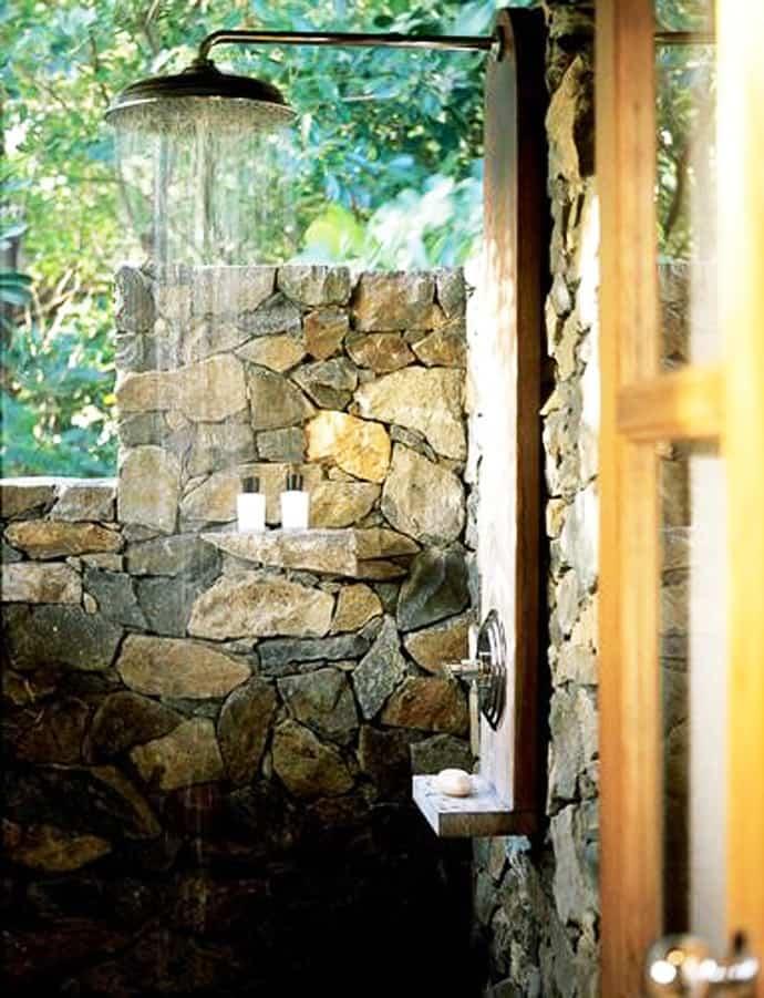 outdoor shower garden photo - 7
