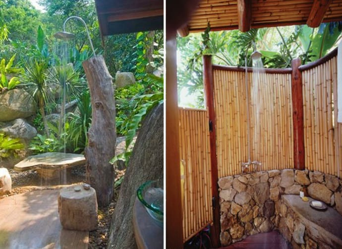 outdoor shower layout photo - 10
