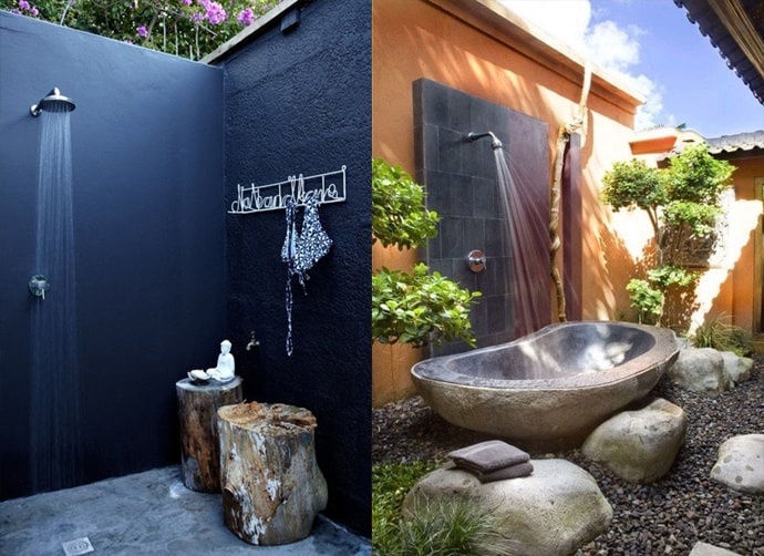 outdoor shower layout photo - 9