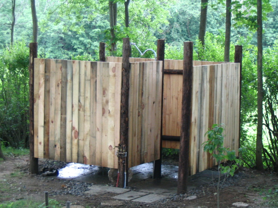 outdoor shower plans photo - 7