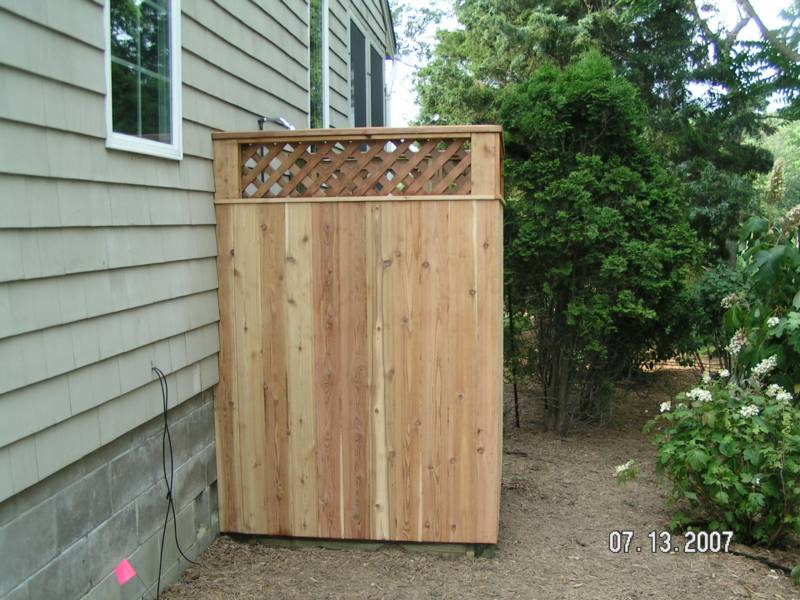 outdoor shower plans photo - 8