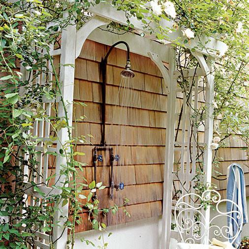 outdoor shower plans photo - 9