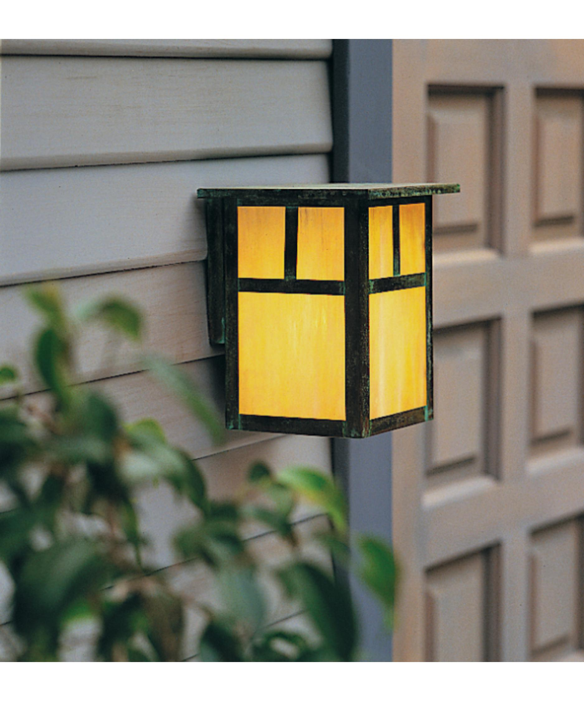 outdoor wall accent lighting photo - 7