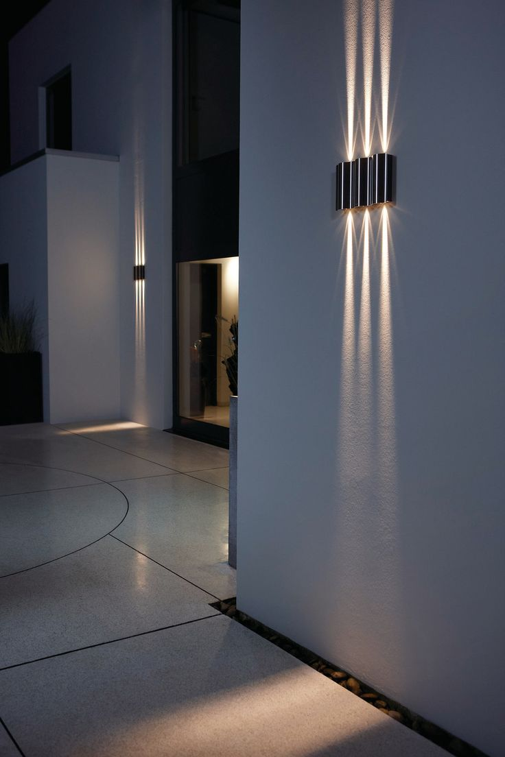 outdoor wall light with built in outlet photo - 9
