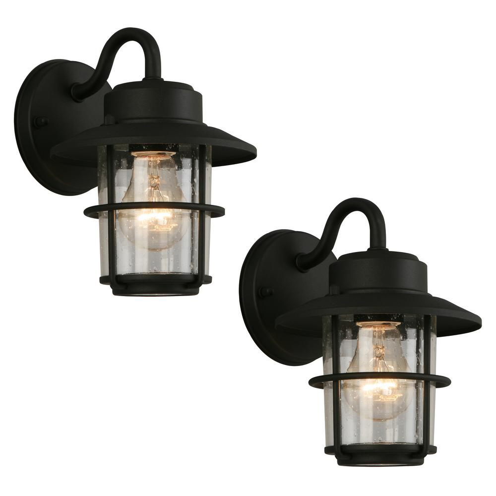 outdoor wall lighting 2 pack photo - 1