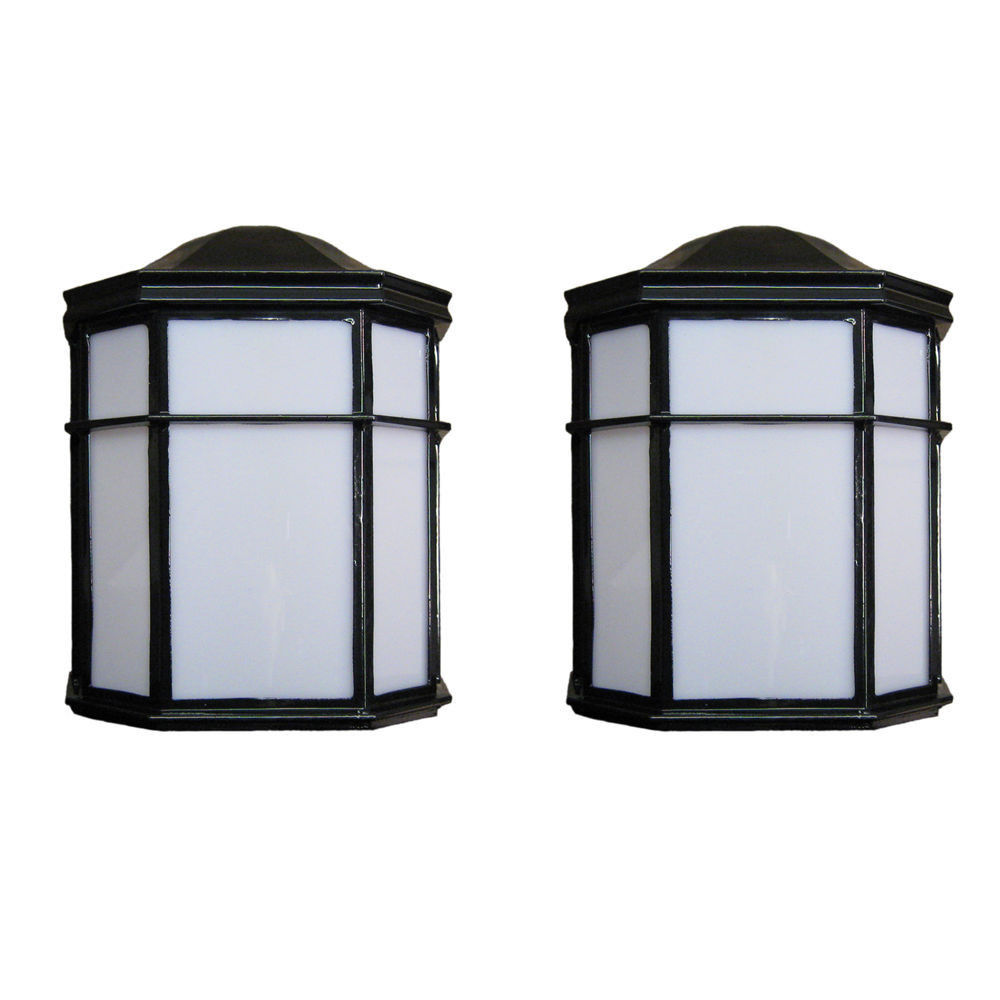 outdoor wall lighting 2 pack photo - 3