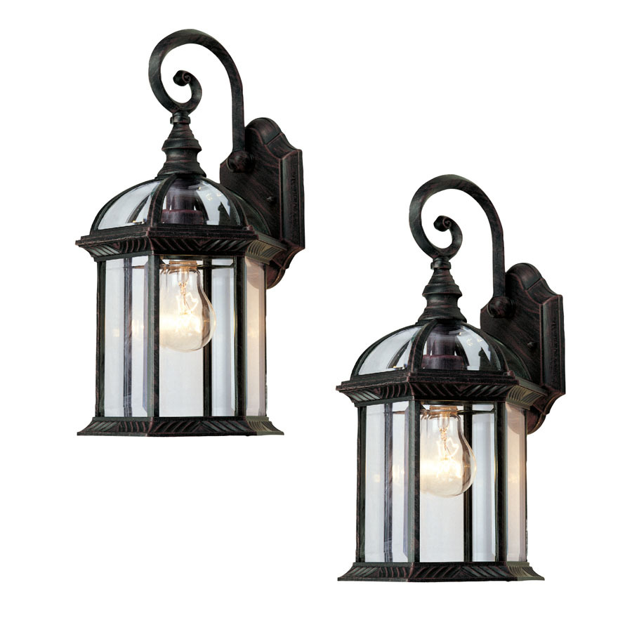 outdoor wall lighting 2 pack photo - 4