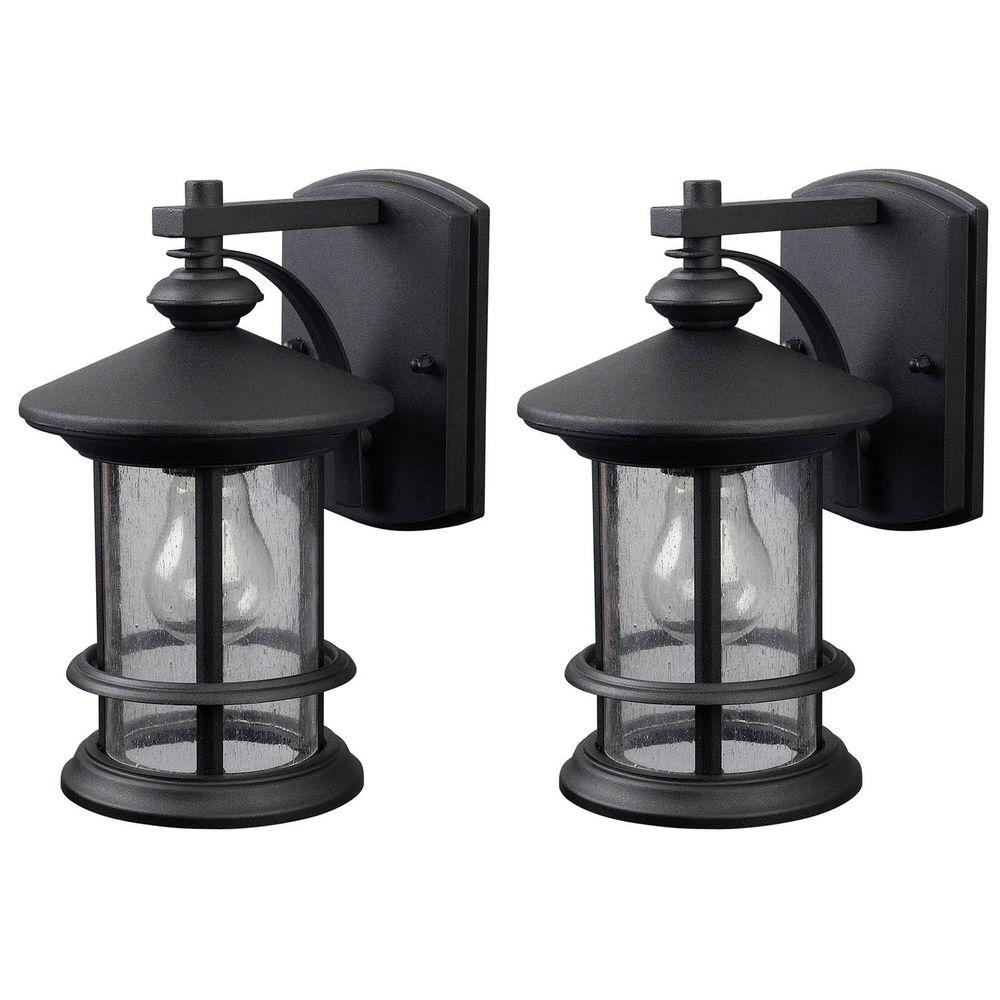outdoor wall lighting 2 pack photo - 5