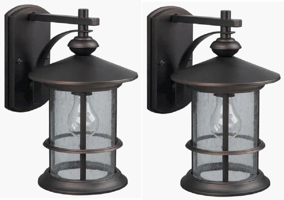 outdoor wall lighting 2 pack photo - 7