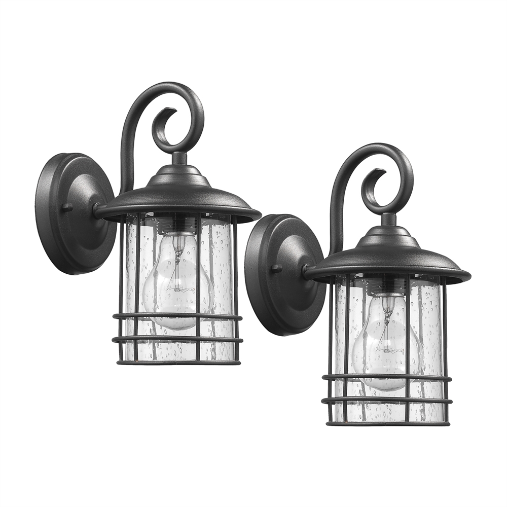 outdoor wall lighting 2 pack photo - 8