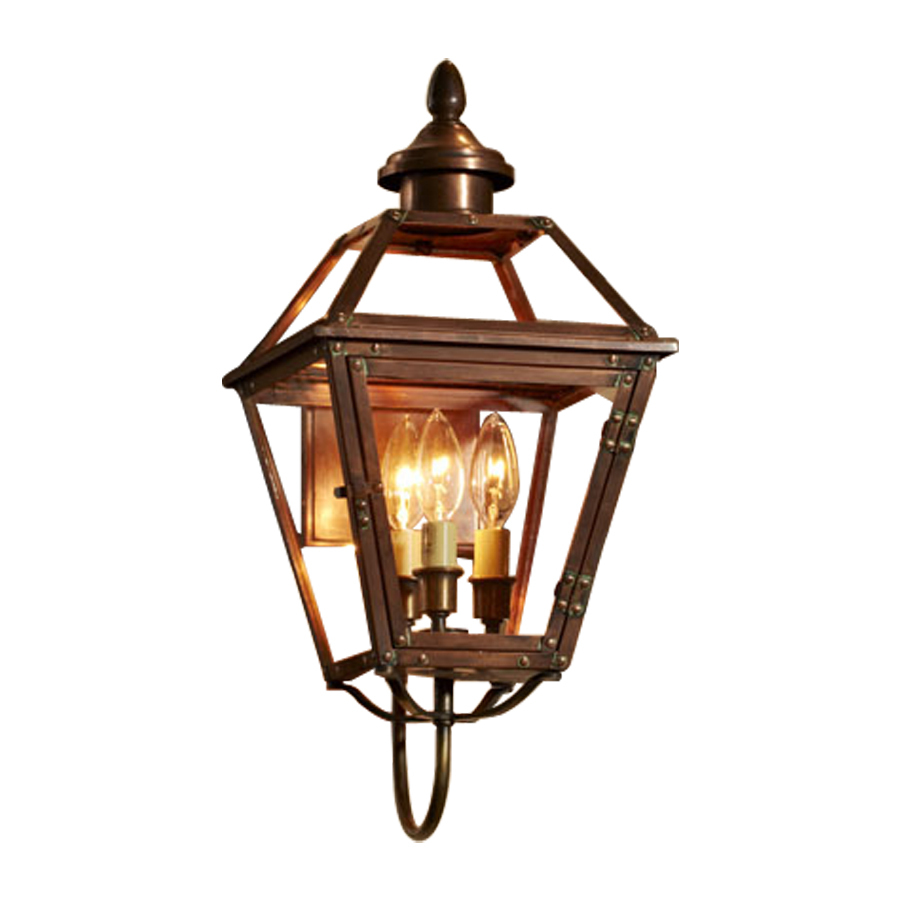 outdoor wall lighting copper photo - 1