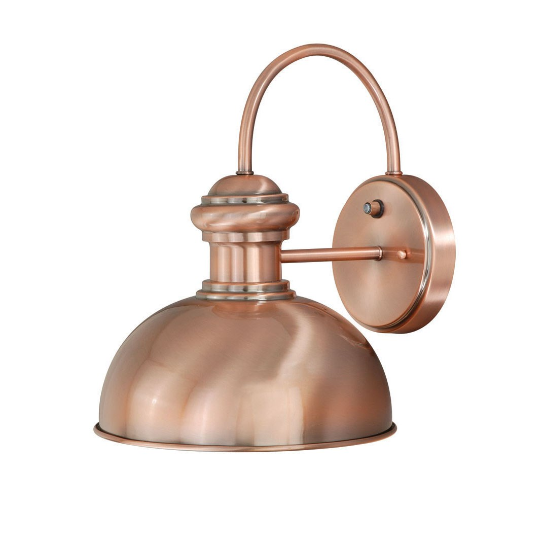 outdoor wall lighting copper photo - 10