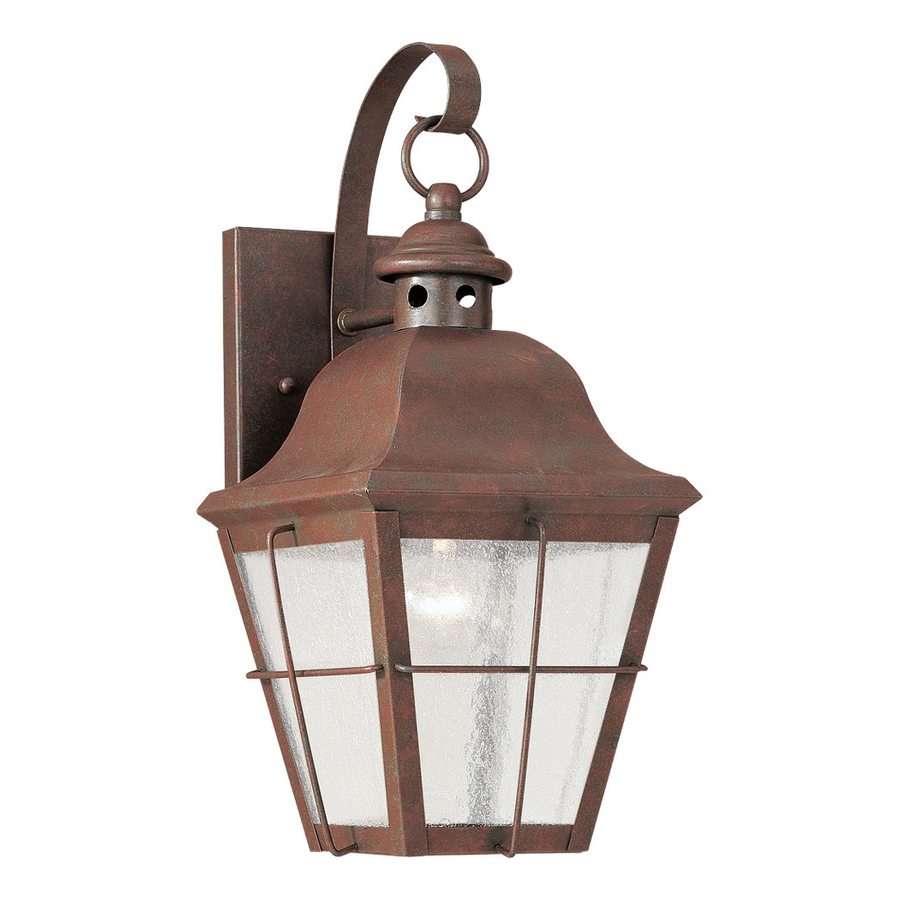 outdoor wall lighting copper photo - 3