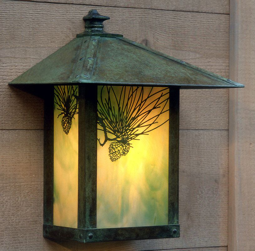 outdoor wall lighting craftsman photo - 7