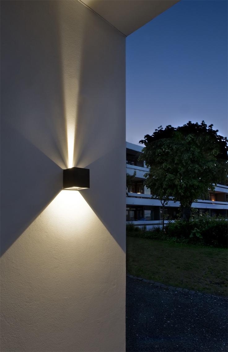 Outdoor Wall Lighting Design Photo 1