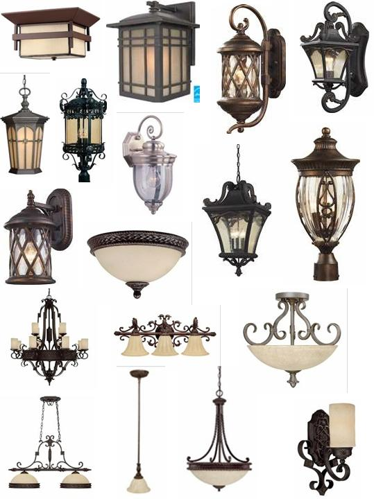 outdoor wall lighting sets photo - 9
