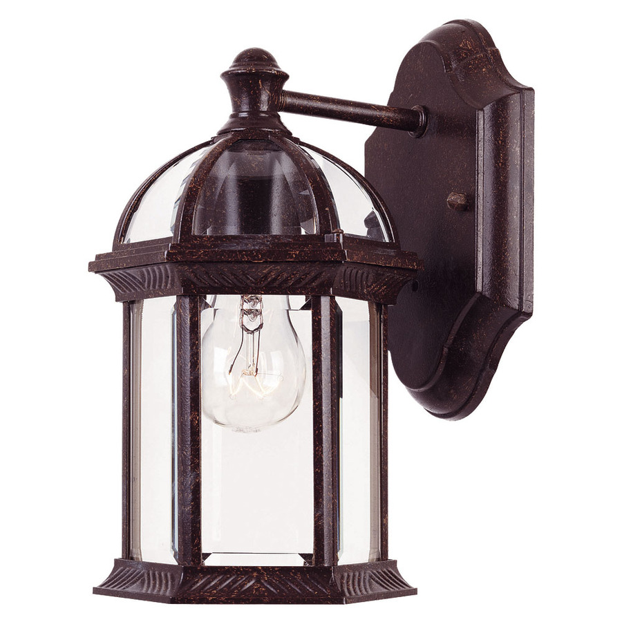 outdoor wall lights rustic photo - 10