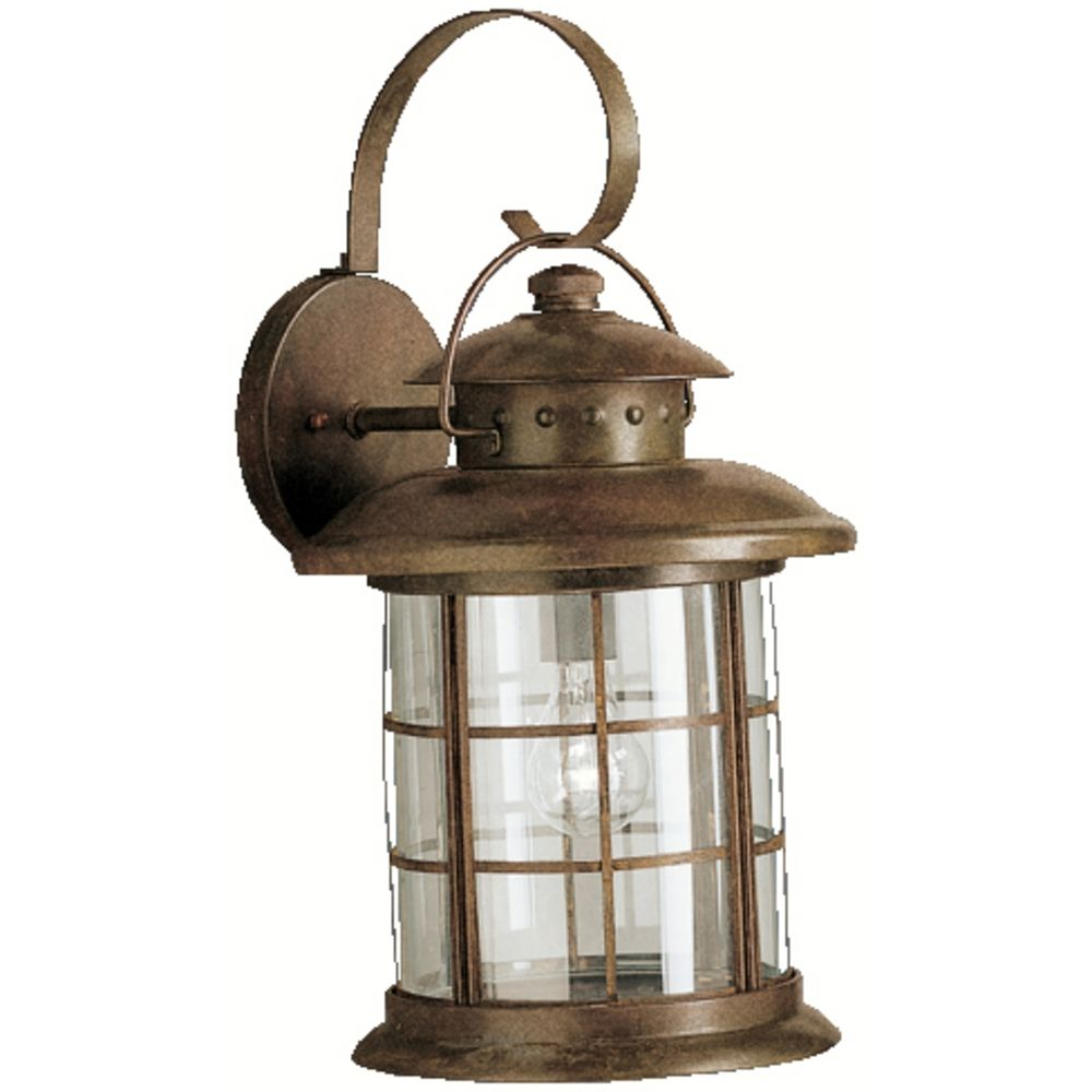 outdoor wall lights rustic photo - 2