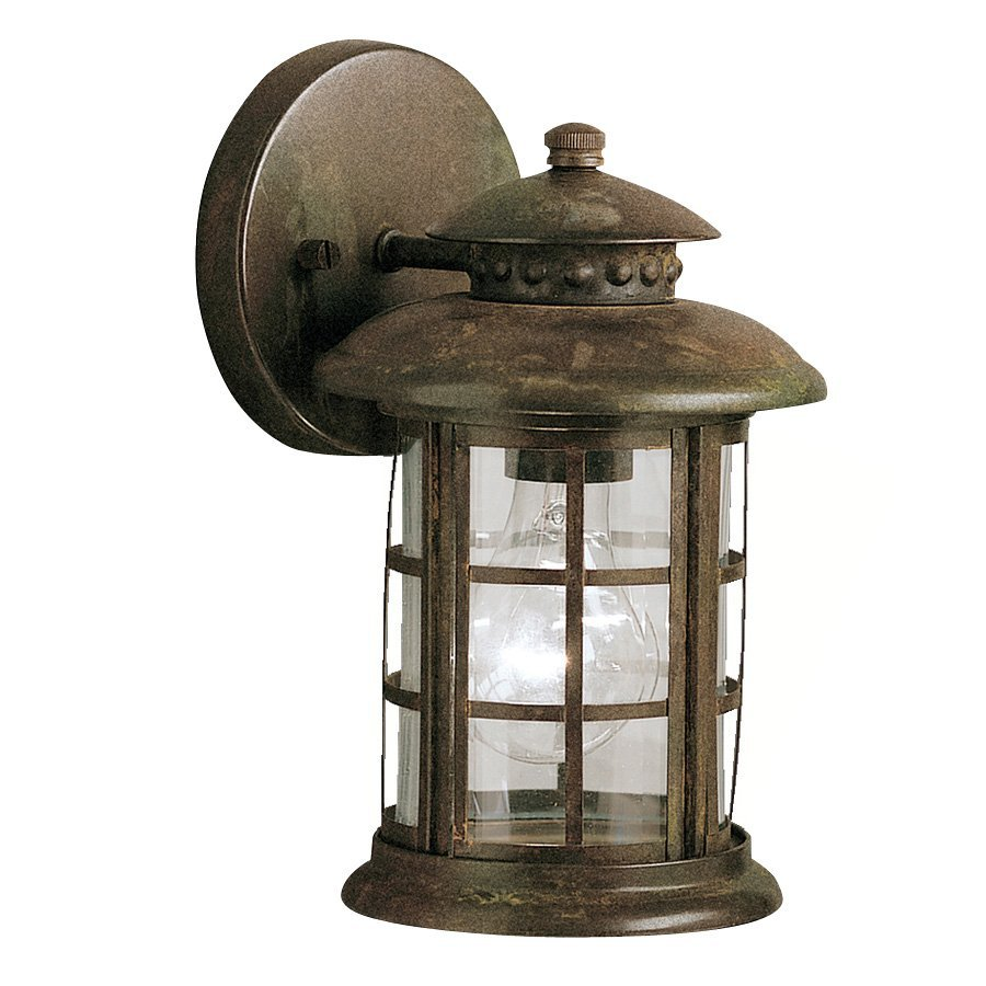 outdoor wall lights rustic photo - 3