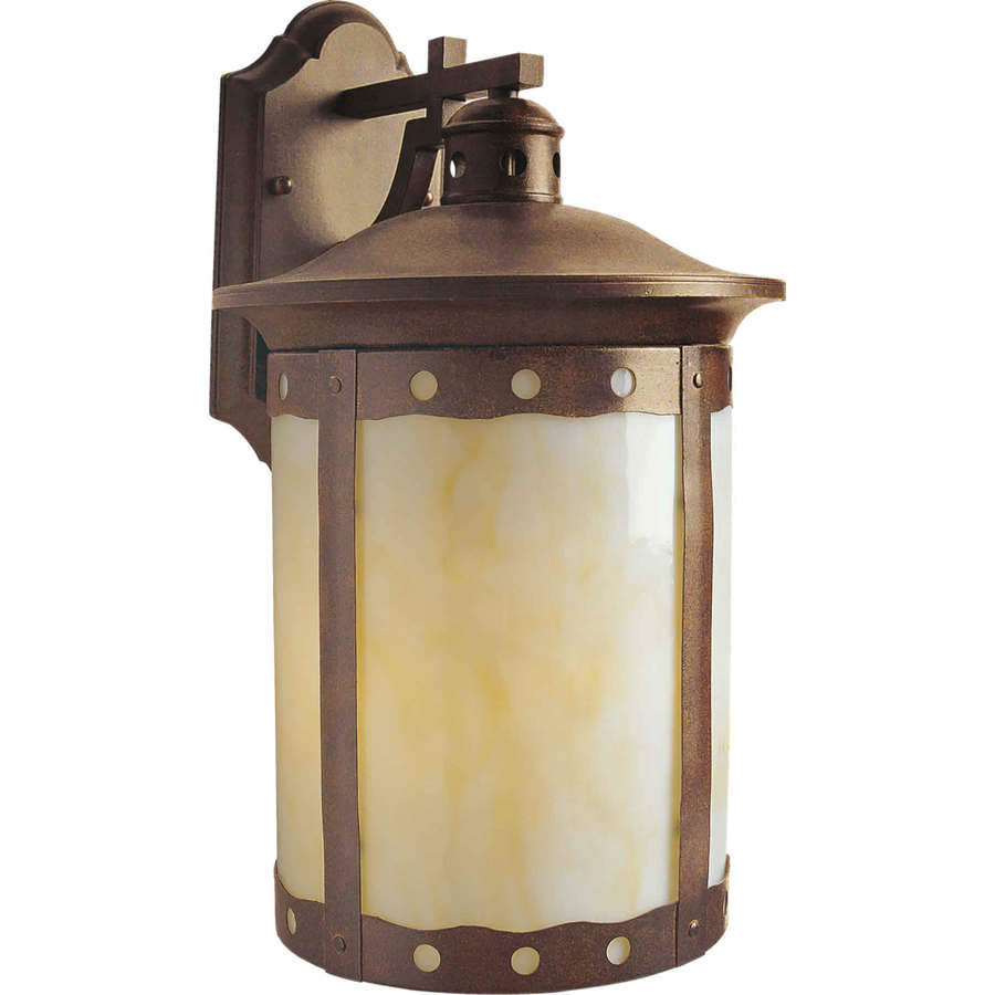 outdoor wall lights rustic photo - 7