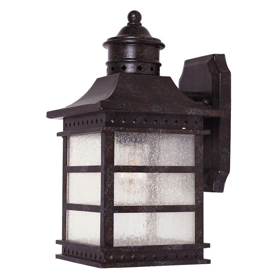 outdoor wall lights rustic photo - 9